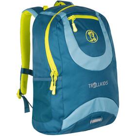 TROLLKIDS Trollhavn Daypack 15l Kids, petrol/dolphin blue/lime